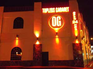 Olympic Gardens - the <em>only stripclub on the Las Vegas strip</em>