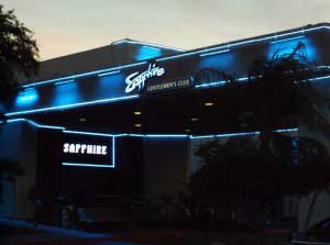 Sapphire - The <em>Largest Las Vegas Strip club</em>