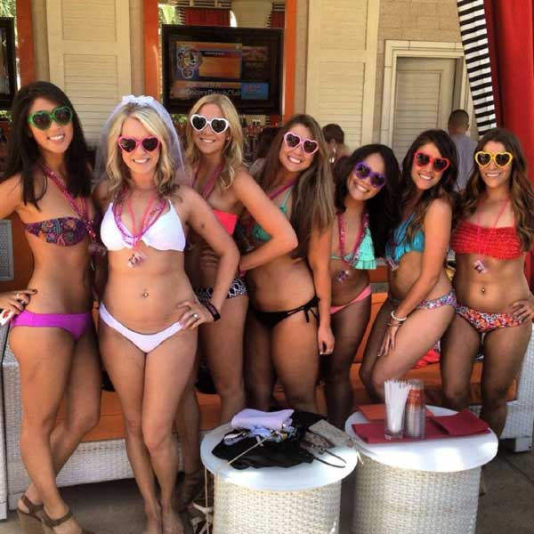 Bachelorette Vegas club packages