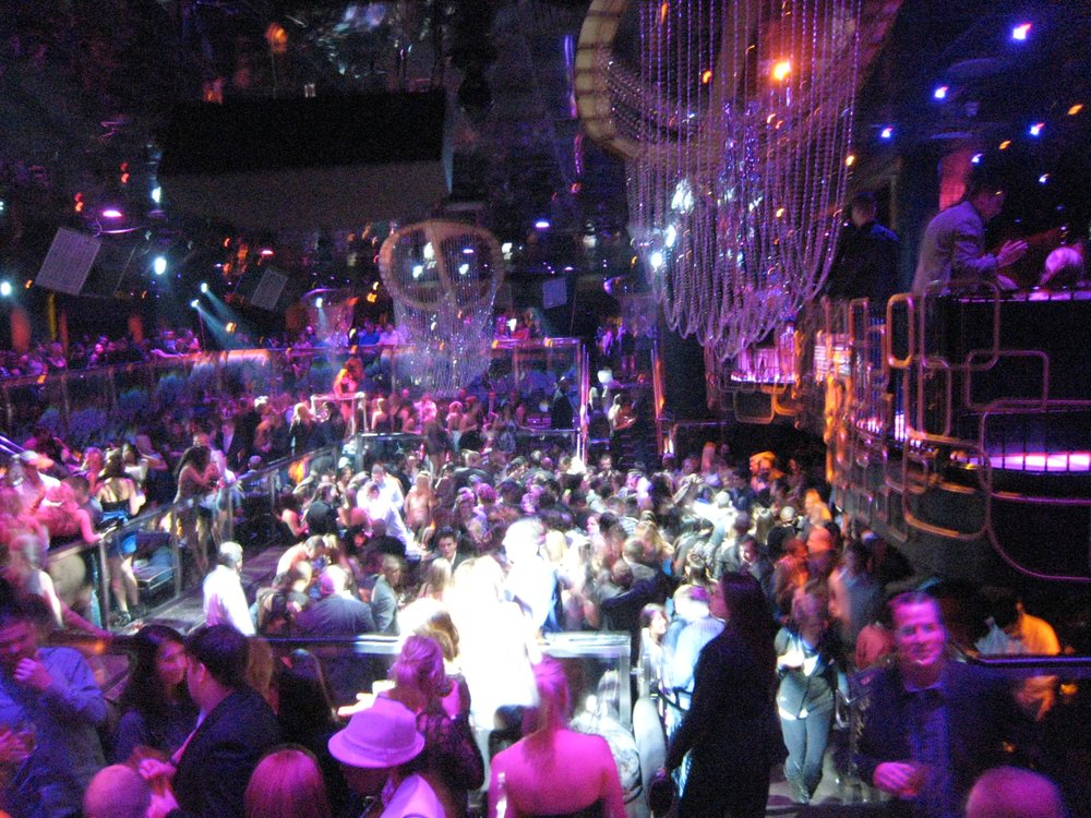 the bank las vegas nightclub